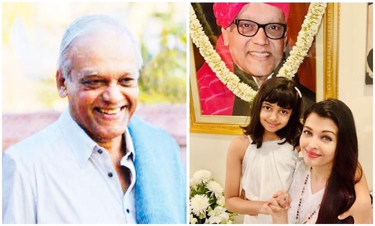 aishwarya rai bachchan, aishwarya rai bachchan father, aishwarya rai bachchan father krishnaraj rai, aishwarya rai bachchan family, ഐശ്വര്യ റായ് ബച്ചൻ