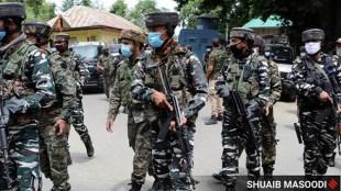 Jammu Kashmir, j&k encounter, j&k militants killed, machil sector encounter, Kashmir infiltration bid, indian express