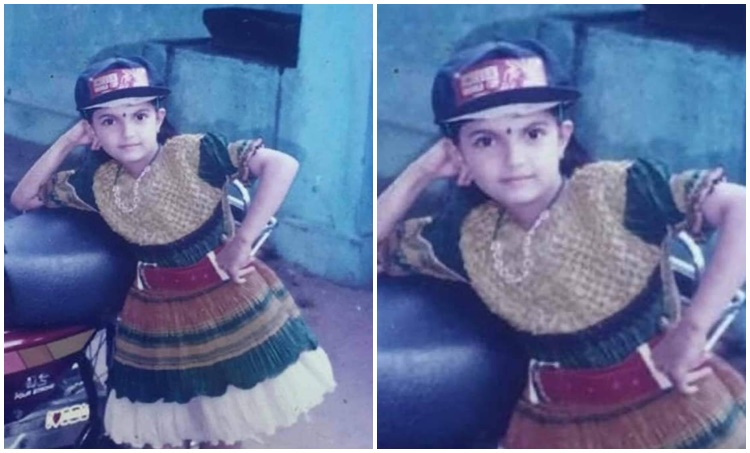 Saranya Mohan, Saranya Mohan childhood photo