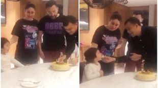 taimur, taimur video, taimur viral video, taimur happy birthday video, kareena kapoor khan, saif ali khan, taimur sings happy birthday, kareena, taimur news, saif, kareena kapoor