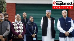 Jammu and Kashmir, Gupkar alliance, BJP on Gupkar alliance, Jammu kashmir Gupkar alliance, Amit shah on Gupkar alliance, Jammu kashmkir polls, Mehbooba Mufti, Congress on Gupkar alliance, Farooq abdullah, Omar abdullah