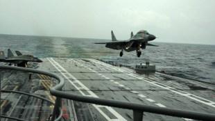 Indian Navy, Mig-29k crash, MiG-29K trainer aircraft crashes, Arabian Sea, India news, Indian express