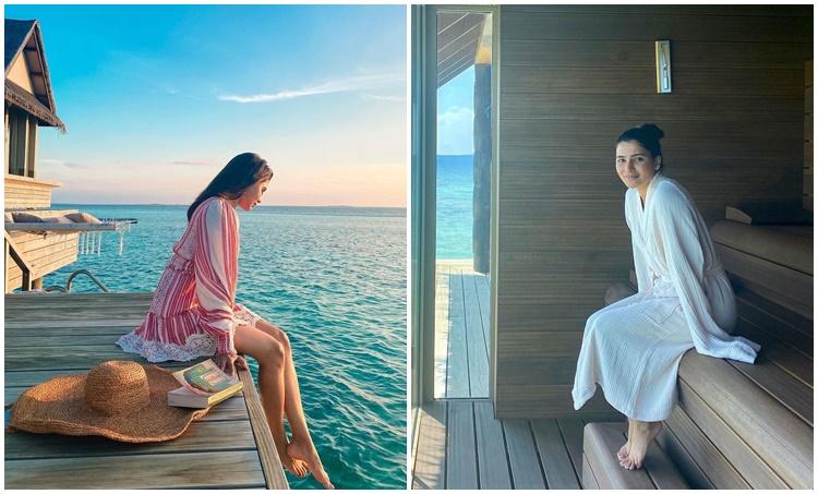 Samantha, Samantha Akkineni, Samantha Akkineni Maldives photos