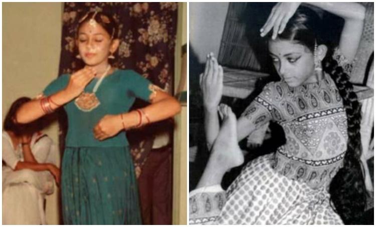 shobana, ശോഭന, Shobana actress, ശോഭന, Shobana films, Shobana childhood photo, Shobana old photos, Indian express malayalam, IE Malayalam
