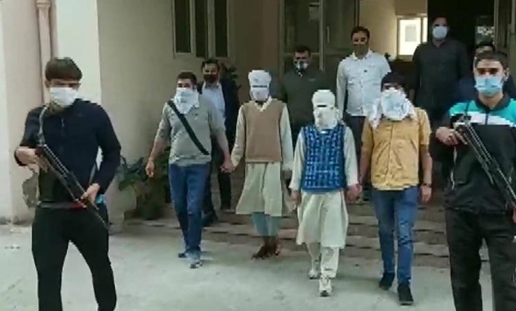 Delhi police, Suspected militants held, Delhi news, Delhi terror attack foiled, Sarai kale Khan, Indian express