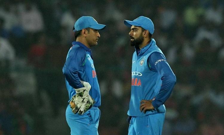 Dhoni and Kohli