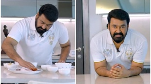 mohanlal, mohanlal cooking video