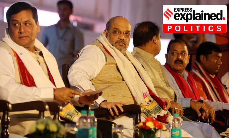 Assam BJP, Assam election, Bodoland Territorial Council, Tiwa Autonomous Council, Express Explained,അസം, ബിജെപി, ie malayalam