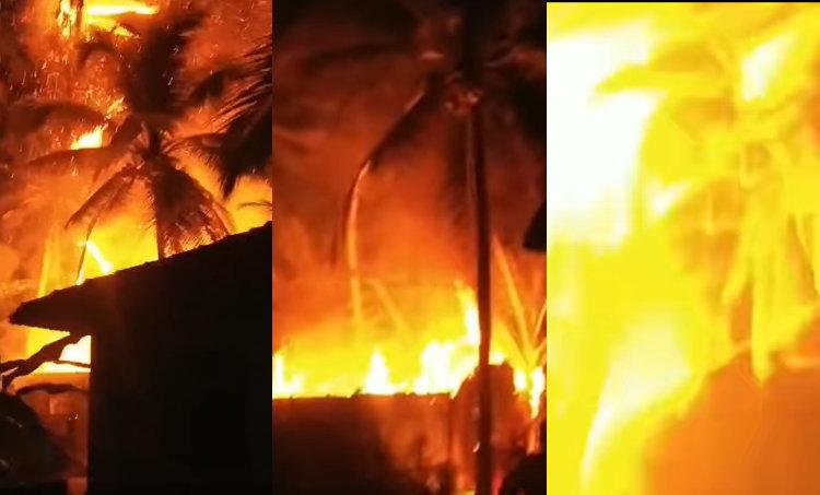 Fire Outbreak, Fire in a Building in Kozhikode, Fire in a Building, Kozhikode, Kozhikode Fire, Nallalam, തീപ്പിടിത്തം, കോഴിക്കോട്, നല്ലളം, Kozhikode news, Local News, Malayalam News, ie malayalam