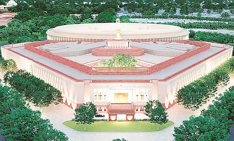 supreme court allows parliament construction, SC parliament construction, SC new parliament building, supreme court on parliament building, news parliament building, indian express