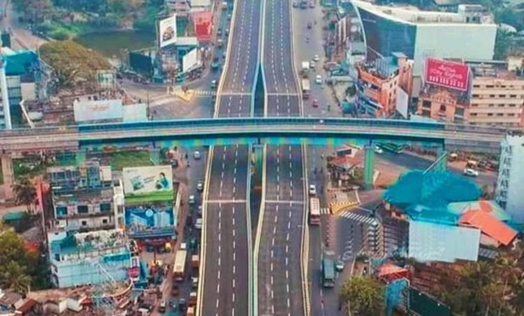 Kundannoor flyover,Vytila,in January,would be inaugurated,കുണ്ടന്നൂർ മേൽപ്പാലങ്ങൾ,ജനുവരിയിൽ,വൈറ്റില,മുഖ്യമന്ത്രി ഉദ്ഘാടനം ചെയ്യും