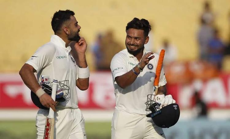 ICC Test rankings, ഐസിസി ടെസ്റ്റ് റാങ്കിങ്, ICC latest Test rankings, pant, rishabh pant, റിഷഭ് പന്ത്, ടെസ്റ്റ് റാങ്കിങ്, വിരാട് കോഹ്ലി, Test cricket ranking, Virat Kohli, Jasprit Bumrah, Steve smith, cricket news, sports news
