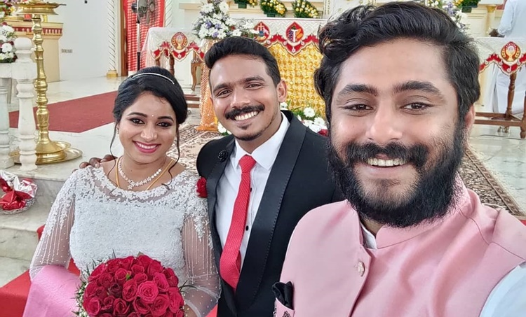 Antony Varghese's sister wedding video