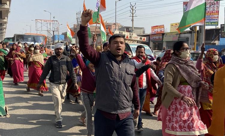 delhi protest, ie malayalam