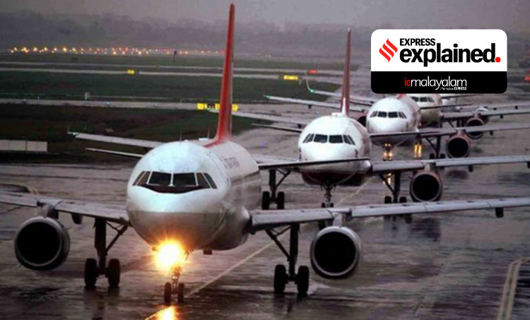 India air travel, India aviation industry, India airlines, India air travel rules, Covid air travel guidelines, Indian Express