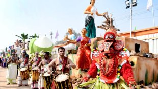 republic day parade, kerala float, republic day, float, കേരള ഫ്ലോട്ട്, റിപ്പബ്ലിക് ഡേ, ie malayalam