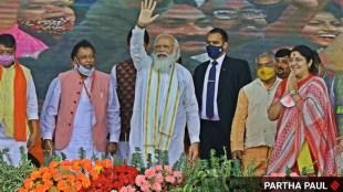 Narendra Modi, Mamata Banerjee, west bengal elections, Narendra Modi news, Narendra Modi in Assam, Narendra Modi in West Bengal, TMC, Sarbananda Sonowal, Indian Express news, West Bengal election, Assam election