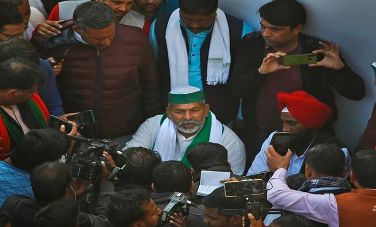 Rakesh Tikait, രാകേഷ് ടികായത്, Narendra Modi, കാർഷിക നിയമ, Rakesh Tikait news, farmers protest, farm laws, Rajya Sabha, Rajya Sabha news, farmers protest news, Indian Express news