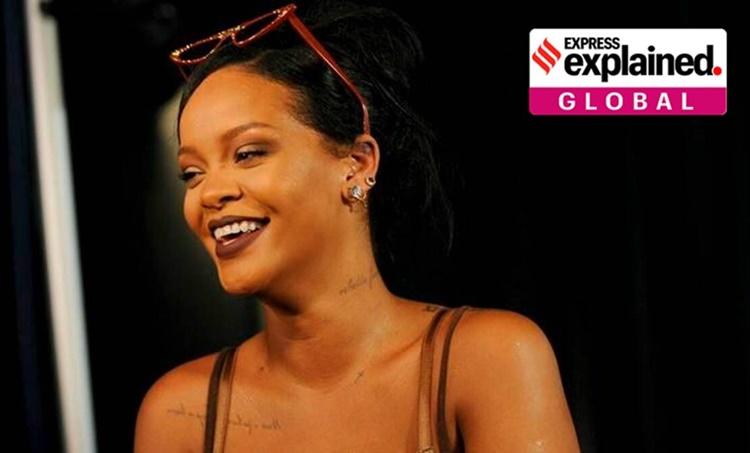 Rihanna, Rihanna india, Rihanna farmers protest, rihanna on farmers, Rihanna on indian farmers, indian farmers rihanna, farmers protest india, Rihanna news, who is Rihanna, indian express explained