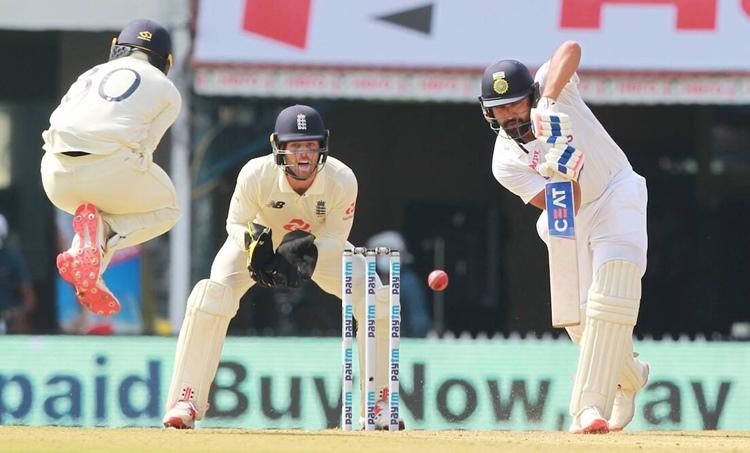 Rohit Sharma, രോഹിത് ശർമ, India vs England, India England Second Test, India England Second Test Scorecard, India England Test News Live Updates, ഇന്ത്യ ഇംഗ്ലണ്ട്, ഇന്ത്യ-ഇംഗ്ലണ്ട് രണ്ടാം ടെസ്റ്റ്, ഇന്ത്യ-ഇംഗ്ലണ്ട് രണ്ടാം ടെസ്റ്റ് സ്കോർബോർഡ്