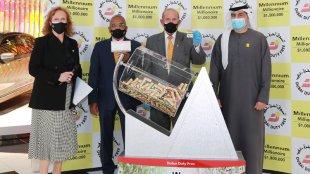 dubai duty free, millennium millionaire, lottery, malayalai, gulf news, ദുബായ് ഡ്യൂട്ടീ ഫ്രീ, Gulf News, UAE News, ie malayalam