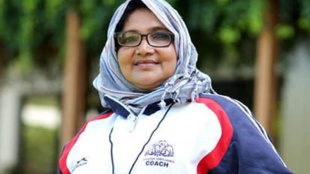 Football coach fousiya, KOZHIKODE Fousiya Mambatta Kerala s first female footballer and coach has passed away,ഫുട്ബോള്താരവും പരിശീലകയുമായ ഫൗസിയ മാമ്പറ്റ അന്തരിച്ചു, iemalayalam, ഐഇ മലയാളം