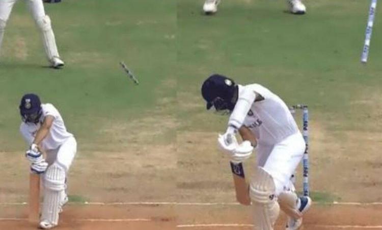 "IND vs ENg, James Anderson, ഇന്ത്യ, ഇംഗ്ലണ്ട്, Gill bowled, ജെയിംസ് ആൻഡേഴ്സൺ, Ajinkya rahane bowled, James Anderson wickets, reverse swing of James Anderson"" />"