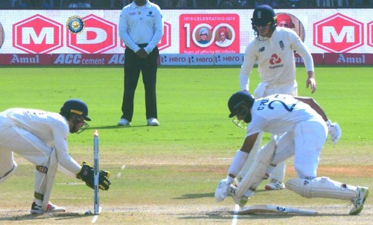 India vs England, ഇന്ത്യ-ഇംഗ്ലണ്ട്, Cheteshwar Pujara, ചേതേശ്വർ പൂജാര, Pujara Run Out, test match, cricket news, ie malayalam, ഐഇ മലയാളം