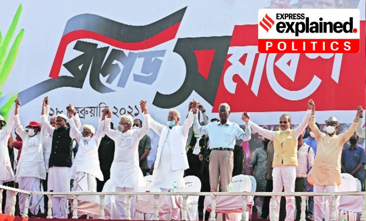 Express Explained, Explained Politics, Brigade Parade Ground, Brigade Parade Ground rally, West Bengal rally, West Bengal politics, West Bengal Assembly Elections 2021, West Bengal election news, election campaign, AIUDF, Indian Express news