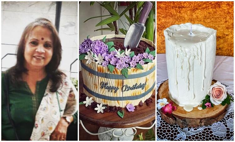 Lena, Lena mother, Lena mother cake baking