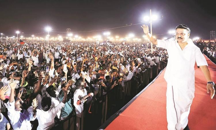 Tamil Nadu elections, MK stalin, MK stalin DMK, MK stalin DMK vison document, DMK Congress seat sharing, DMK, Congress, Tamil Nadu, Indian Express