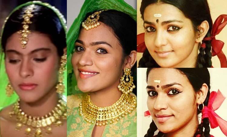 Makeover videos, inspired look, Urbeautifull_rinsy, Rinsy viral videos, റിൻസി, Indian express malayalam, IE malayalam