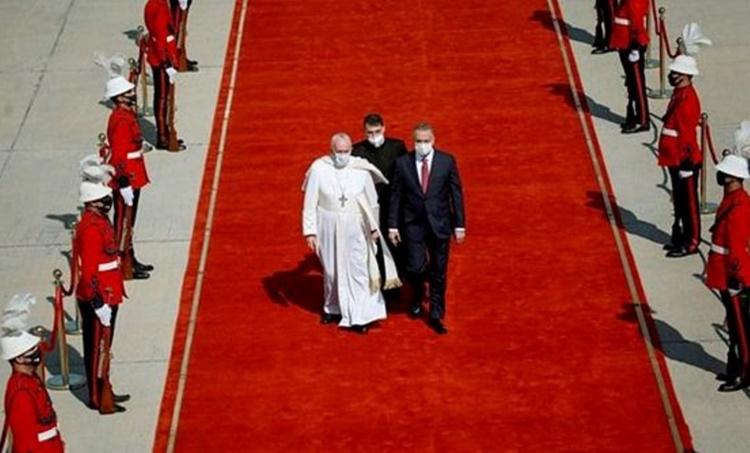 Pope Francis, പോപ്പ് ഫ്രാൻസിസ്, Pope Francis iraq visit, ഫ്രാൻസിസ് മാർപാപ്പ, Pope Francis news, Indian express, Indian express news, iemalayalam, ഐഇ മലയാളം