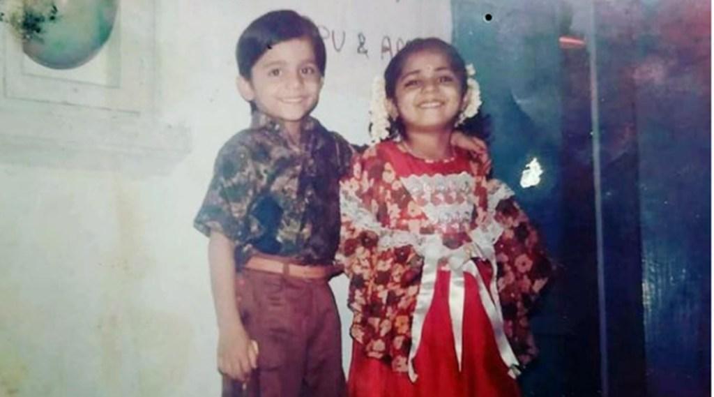 anjali nair, anjali nair childhood photo, anjali nair movies