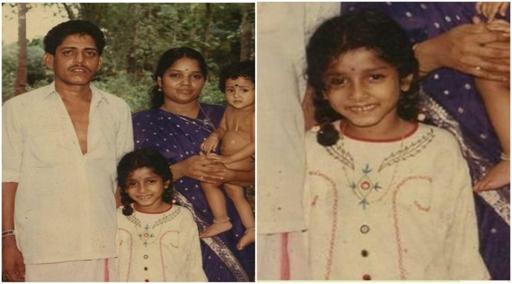 Anumol, Anumol childhood photo, Anumol family