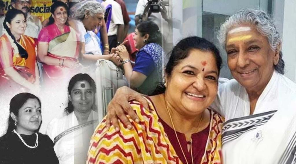 K S Chithra S Janaki, S Janaki birthday, K S Chithra S Janaki photos, K S Chithra S Janaki songs