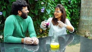 Manju Warrier, Sunny wayne, Manju Warrier Sunny wayne interview, Manju Warrier latest photos, Manju Warrier new look, manju warrier chathur mukham , chathur mukham movie, Manju Warrier viral photos, മഞ്ജു വാര്യർ, Indian express malayalam, IE malayalam