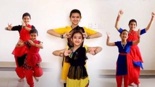 Nandana Krishnamurthy, Navanya, Nandana Krishnamurthy dance, viral dance by sister, Indian express malayalam, Ie malayalam