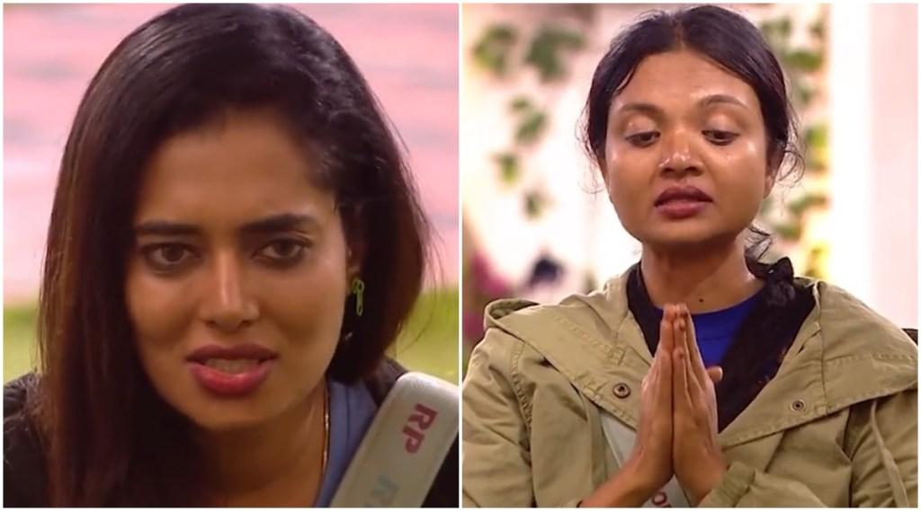 Soorya Remya bigg boss, ramya angry to soorya