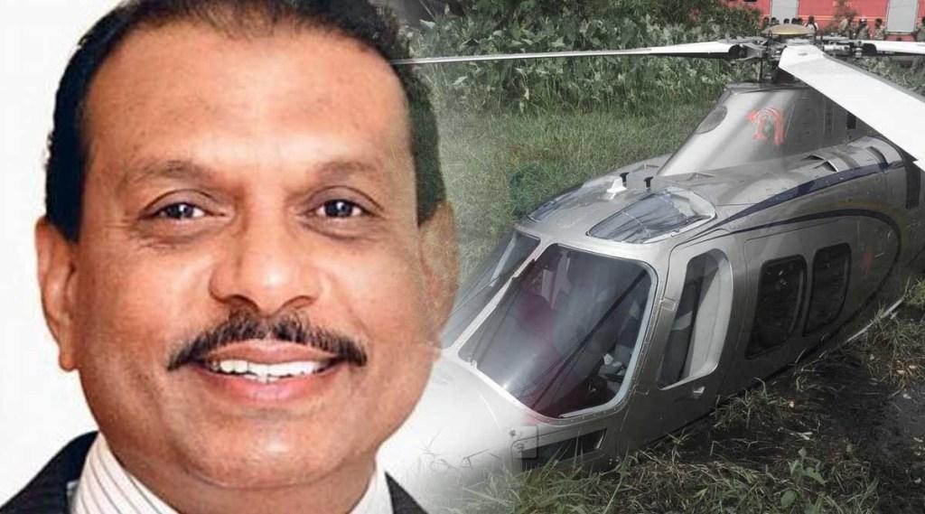 MA Yusuff Ali, എംഎ യൂസഫലി, Helicopter Accident, ഹെലിക്കോപ്ടര് അപകടം, Helicopter Accident video, News, Latest Malayalam News, Indian Express Malayalam, IE Malayalam, ഐഇ മലയാളം