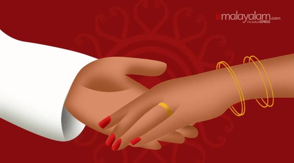wedding, വിവാഹം, covid-19 ward, കോവിഡ് വാർഡ്, covid, alappuzha, iemalayalam, ഐഇ മലയാളം