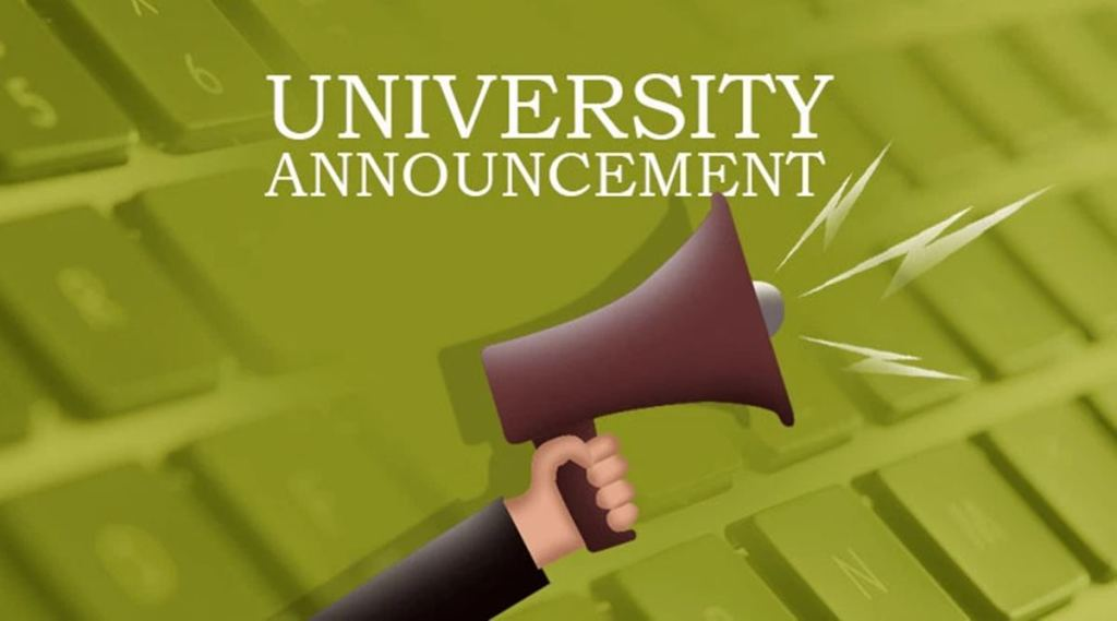 university announcements, ie malayalam