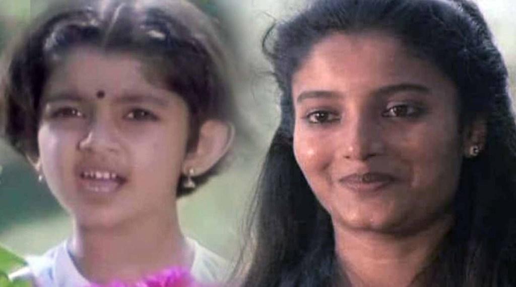 Malayalam Actress Throwback Photo Neeyethra Dhanya instagram 501977