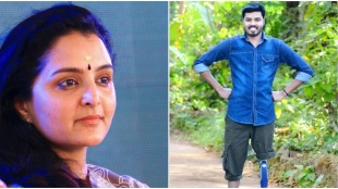 Nandu Mahadeva, Manju Warrier, Nandu Mahadeva death, Nandu Mahadeva passes away, cancer, Cancer survivor Nandu Mahadeva, നന്ദു മഹാദേവ, indian express malayalam, Ie malayalam
