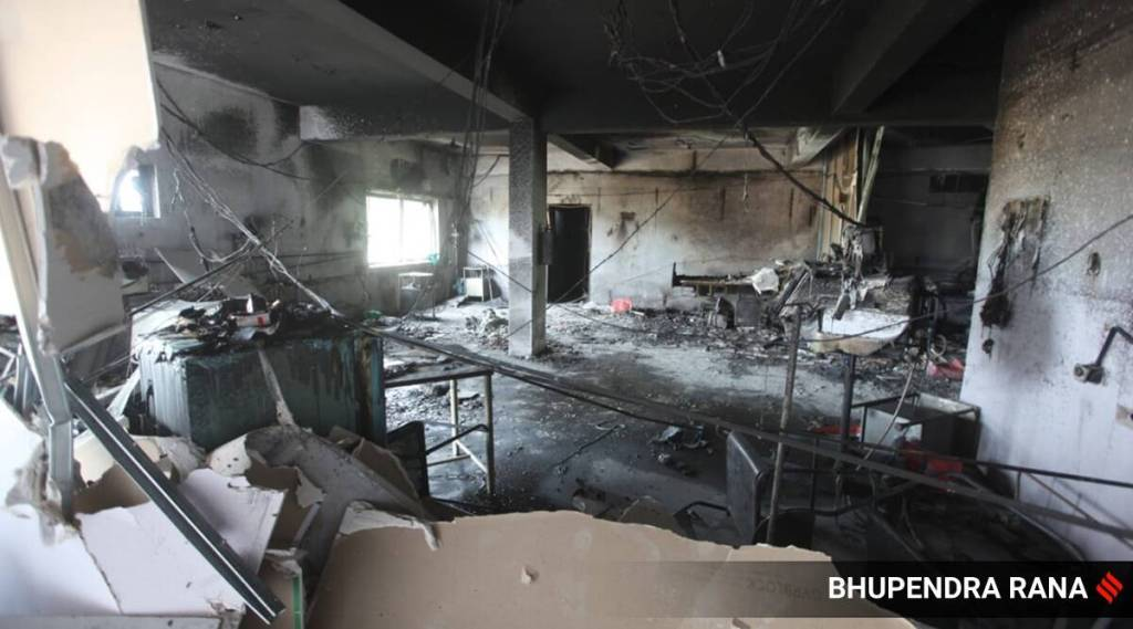 Gujarat Hospital Fire, ഗുജറാത്തിലെ ആശുപത്രിയില്‍ തീപിടുത്തം, Gujarat Hosspital Fire Death, Gujarat Hospital Fire News, Gujarat Hospital Fire news, Latest News, IE Malayalam, ഐഇ മലയാളം
