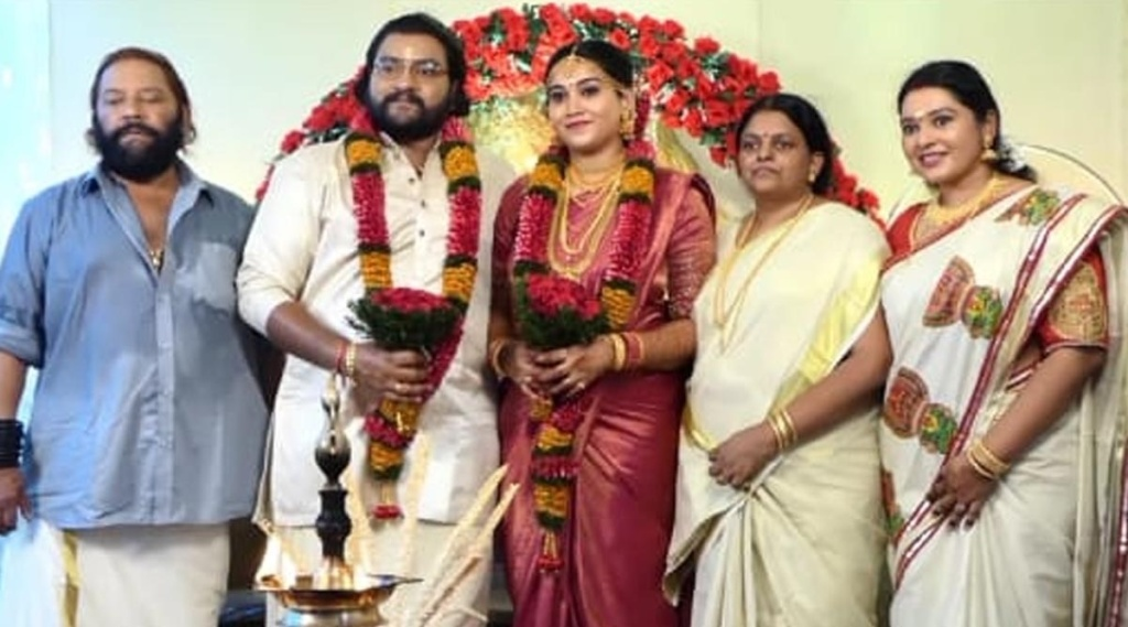mafia sasi, mafia sasi son wedding, mafia sasi son sandeep wedding, mafia sasi family, മാഫിയ ശശി, indian express malayalam, IE malayalam