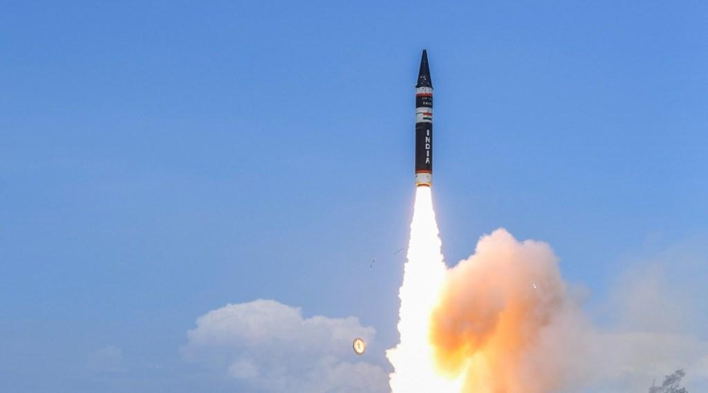 Agni Prime missile, India tests Agni Prime missile, indian missiles, latest indian missiles, Agni Prime missile test, Agni Prime missile latest news, Agni Prime missile updates, Defence Research and Development Organisation, DRDO, ie malayalam