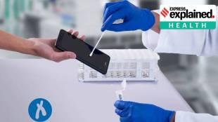 coronavirus test smartphone screen, phone screen covid test, covid test phone screen, test your phone for coronavirus, how to test smartphone coronavirus, coronavirus phone screen test, ie malayalam