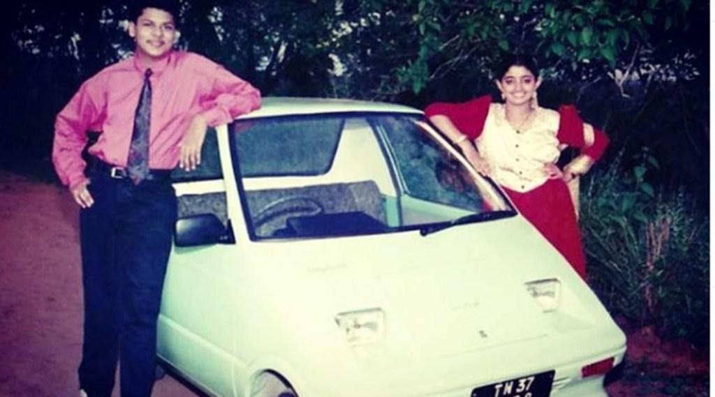 Divya Unni, Electric Car, ഇലക്ട്രിക് കാർ , E-Car, ഇന്ത്യയിലെ ആദ്യ ഇലക്ട്രിക് കാർ, India's first e-car, ഇലക്ട്രോണിക് കാർ, MD Jose, എം.ഡി.ജോസ്, First E Car in India, E Car in Chalakudy, ഇലക്ട്രിക് കാർ ചാലക്കുടി