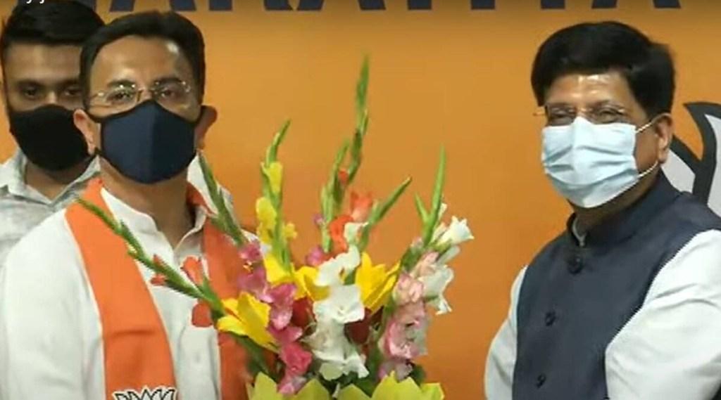 Jitin Prasada, Jitin Prasada BJP, Jitin Prasada joins BJP, congress leader Jitin Prasada joins BJP, Jitin Prasada leaves Congress, ie malaylam